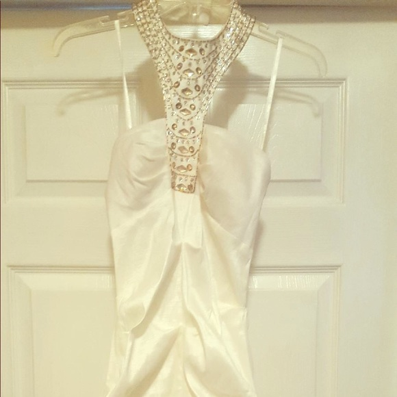 White Goddess Prom Dress | Poshmark